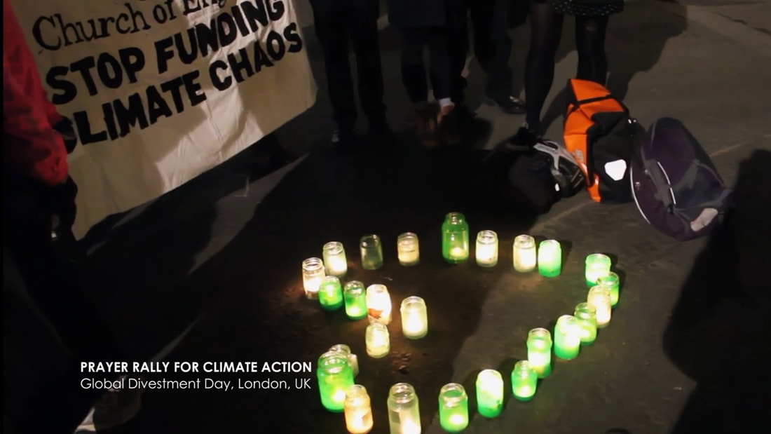 Prayer Rally for Climate Action, Global Divestment Day, London, UK