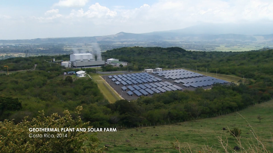Geothermal Plant and Solar Farm in Costa Rica, 2014