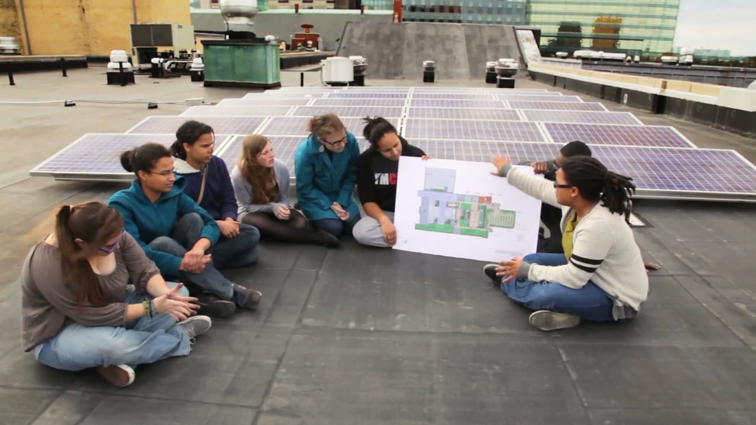 Educating youth on sustainable sources of energy like solar power